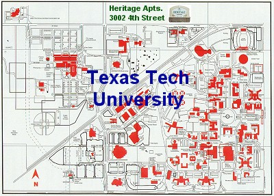 26 awesome Texas Tech Campus Map – bnhspine.com
